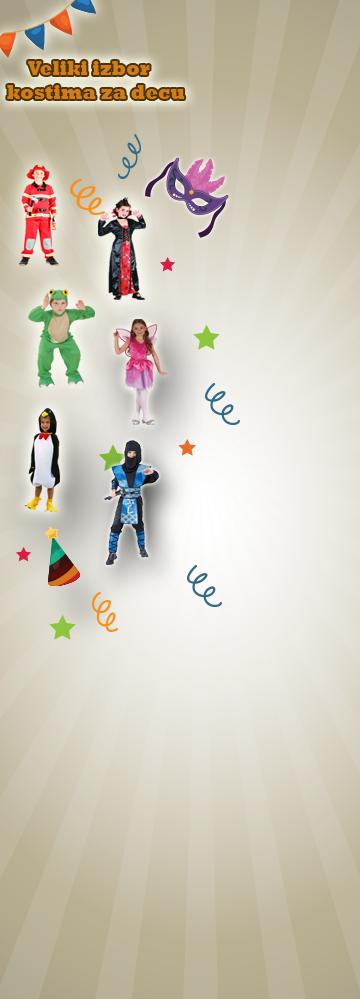 Veliki izbor kostima za decu