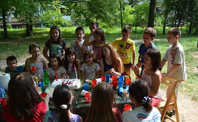 dječji rođendan u prirodi Dečiji rođendan, a što ne bi moglo ovako? | Dečji sajt dječji rođendan u prirodi