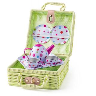 Korpa za piknik sa setom za čaj 91881