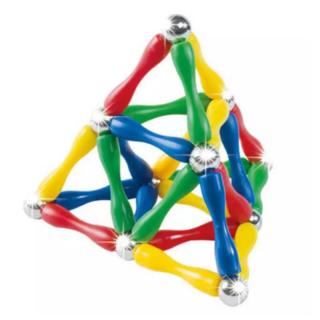 Magnetni konstruktor set  od 63 dela