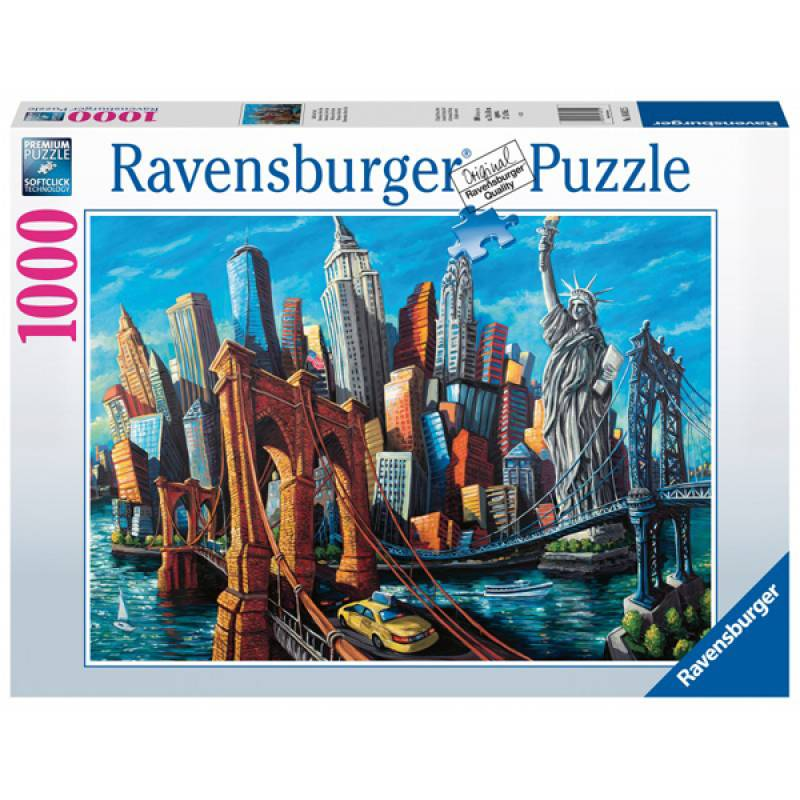 Ravensburger puzzle Welcome to New York RA16812
