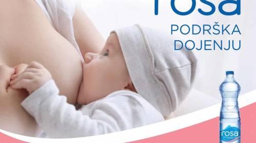 """ROSA kutak za dojenje kao nastavak inicijative """"Beba bira gde"""""""
