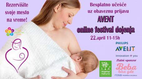 Trudnice, prijavite se na ONLINE festival dojenja