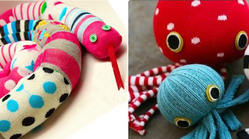 Ne bacajte stare čarapice! Od njih mogu da se naprave sjajne igračke