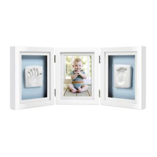 Babyprints Deluxe stoni ram sa otiskom - beli P63006