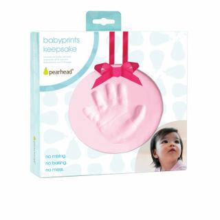 Bebin otisak Babyprints roza 50026