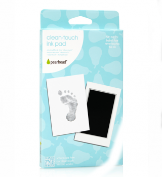 Ram za otisak Parhead Clean-Touch Ink Pad - Crni, 00007