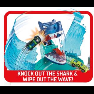 Hot Wheels Staza City Shark Beach Battle 44031