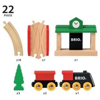 Drvena pruga - 22 dela Brio BR33028