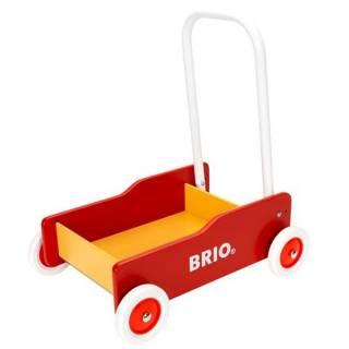 Kolica žuto/crvena Brio BR31350