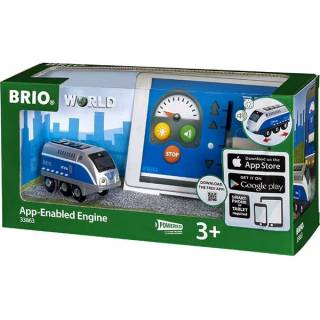 Lokomotiva sa mini USB kablom Brio BR33863
