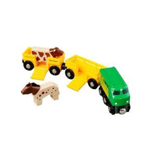 Poljoprivredni voz sa 2 vagona Brio BR33404