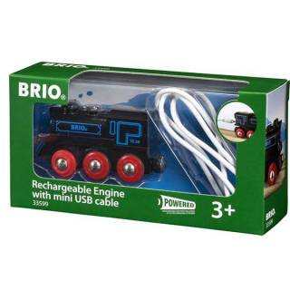 Punjiva lokomotiva sa mini USB kablom Brio BR33599