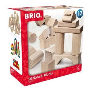 Set kocki natural 50 komada Brio BR30113