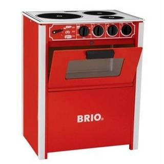 Šporet crvene boje Brio BR31355