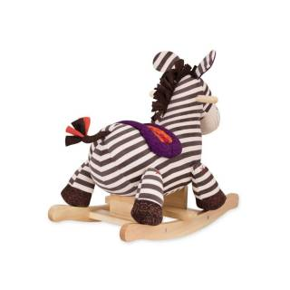 B toys plišana klackalica Zebra 312033