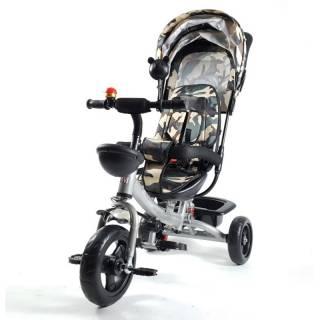 Tricikl Playtime model 406-1, sivi ram