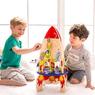 Montesori igračka raketa 22012