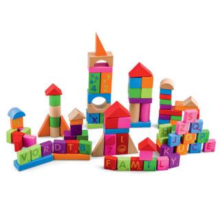 Edukativne kocke-blokovi 100 komada, 8477