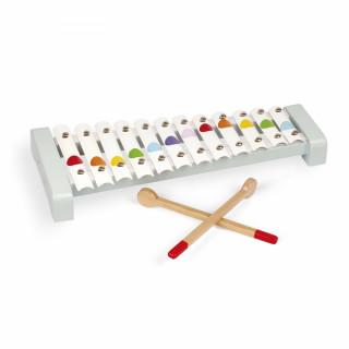 Drvena muzička igračka ksilofon J07604