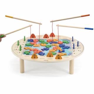 Drveni sto za pecanje 24689