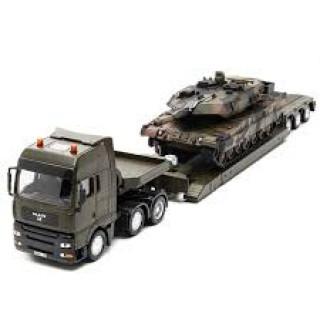 Vojni transporter sa tenkom 8612