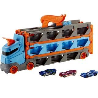 Hot Wheels mega transporter sa stazom GVG37