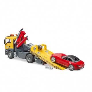 Kamion MAN Tgs šlep služba Bruder i auto 037505