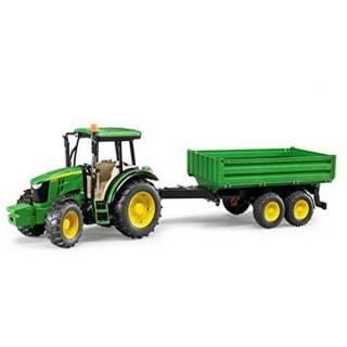 Traktor sa prikolicom Bruder John Deere 021085