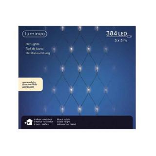 Spoljašnja novogodišnja LED svetleća mreža 300x300cm