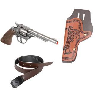 Divlji zapad set oružja sa kaišem 24604