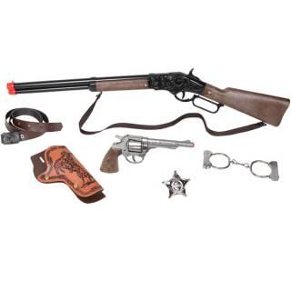Divlji zapad set oružja  sa puškom 24606