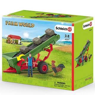 Pokretna traka za seme sa farmerom 42377