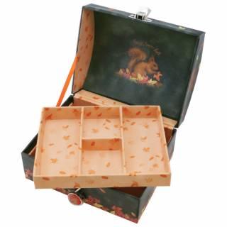 Kutija za nakit sa ključićem  Autumn Leaves 701GJ08