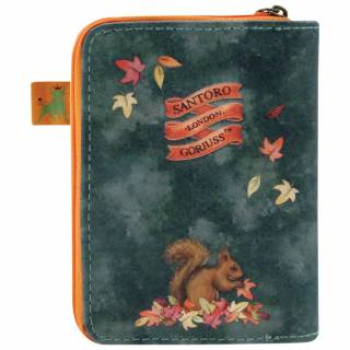Novčanik zip+dugme Autumn Leaves 903GJ03