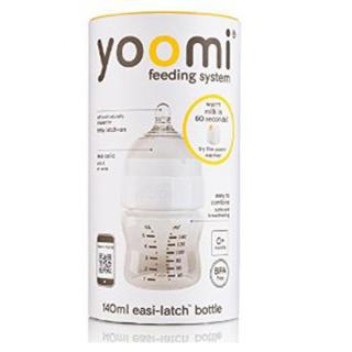 Set bočica 140ml + cucla sa malim otvorom Yoomi, Y15B