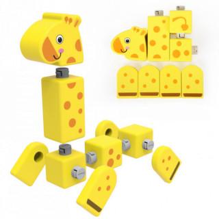 Drvene kocke blokovi životinje ToP Bright 120155