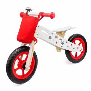 Drveni balans bike 755, crveni