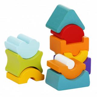 Drveni balans toranj Cubica 11 elemenata 12862