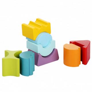 Drveni balans toranj Cubica 8 elemenata 12718