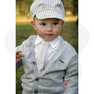 Bela košulja sa kravaticom