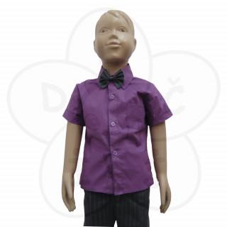 Košulja Koki- kratak rukav ljubičasta