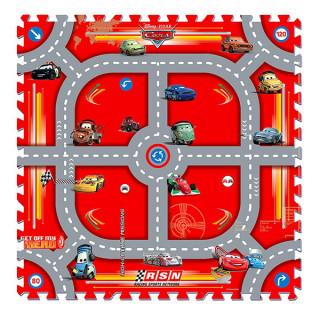 Mekana podna puzzla Cars staza 21015