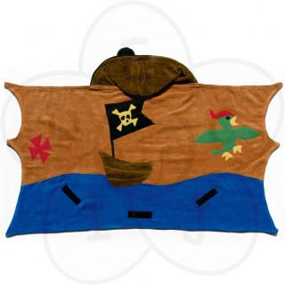 Ogrtač - peškir pirat, za plažu i kupanje-srednji