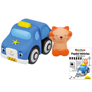 Popbo policijsko vozilo  Ks Kids, KA10645-GB