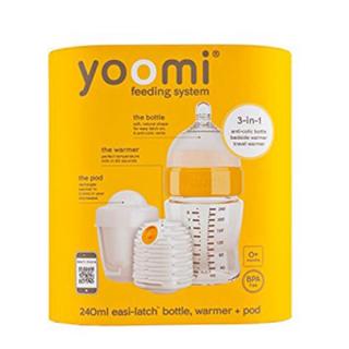 Set bočica 240 ml+grejač+cucla sa malim otvorom+kutija za grejač Yoomi, Y18B1W1P