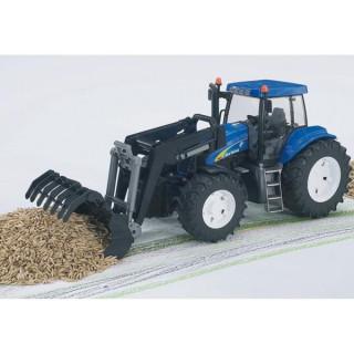 Traktor New Holland 1993 T8040 Bruder 019938