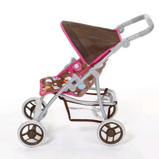 Kolica za lutke Knorr Toys Liba braon Splash 16813