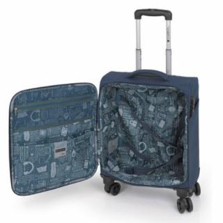 Kofer mali (kabinski) polyester Ivory plava, 16KG115822E