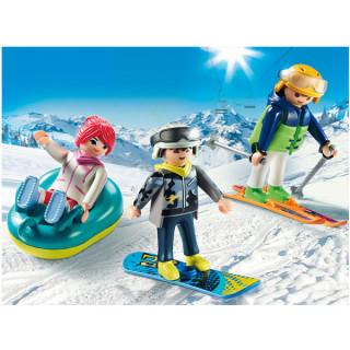 Playmobil Ekipa za skijanje 19481